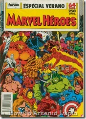 P00079 - Marvel Heroes Especial  Verano.howtoarsenio.blogspot.com