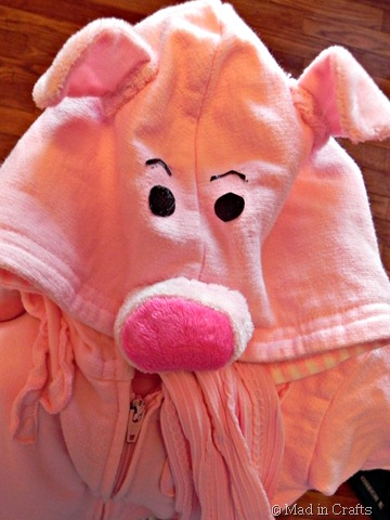 piggie bank costume