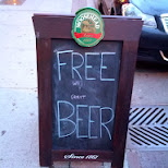 Free Beer in Toronto in Scarborough, Ontario, Canada