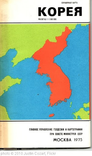 'Found: Soviet Map of Korea' photo (c) 2010, Justin Cozart - license: http://creativecommons.org/licenses/by-sa/2.0/