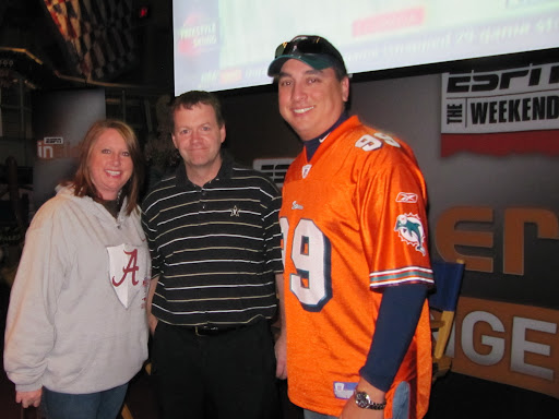 Lee and me with Buster Olney at ESPN the Weekend