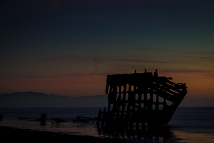 Long Exposure Peter Iredale