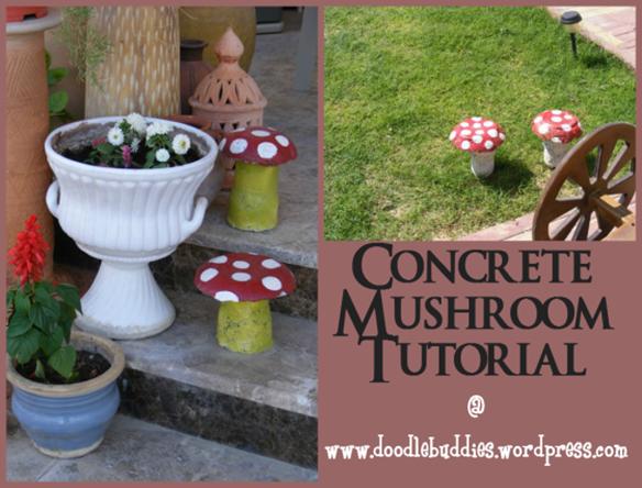 Concrete Mushroom Tutorial