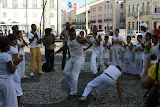 I have always been interested in Capoeira, and Salvador is famous for it. There are many masters and groups based here.