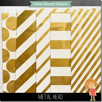 gold paper digiscrap
