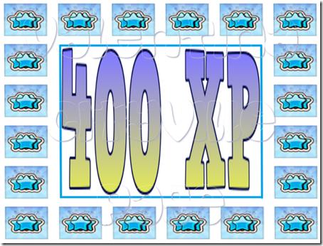 400 XP