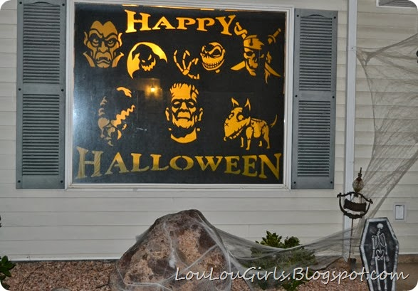 Halloween-window-decorations