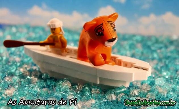 FILMES RECRIADOS EM LEGO: AS AVENTURAS DE PI!