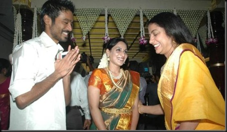 Dhanush, Aishwarya Rajini at Selvaraghavan Second Marriage