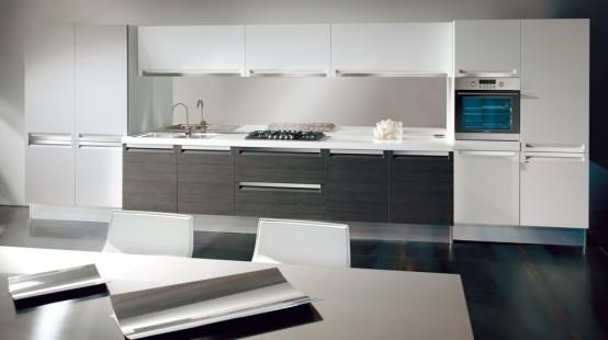 Modern Black and White Kitchen Design Ideas-New 2015