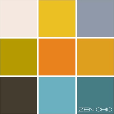 Color choice tuerkis mit orange
