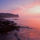 Sunrise and Fog / Split Rock Lighthouse State Park / Minnesota