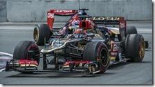 Kimi Raikkonen nel gran premio del Canada 2013