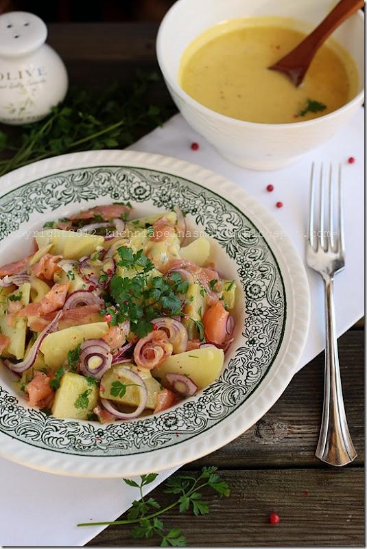 ziemniaki w mundurkach, łosoś i majonez domowy (2)