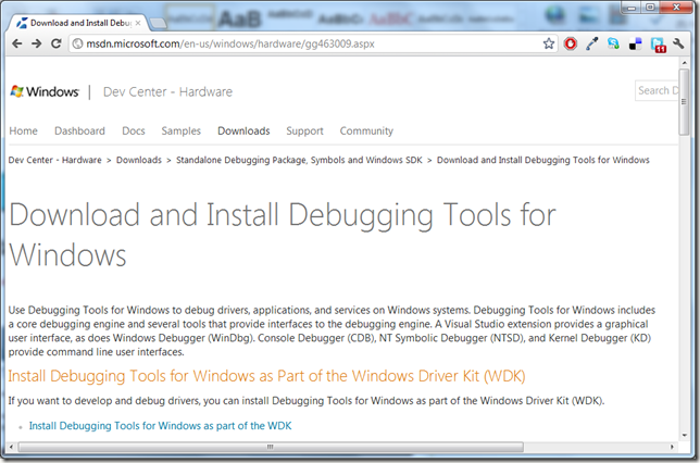 install-debugging-tools