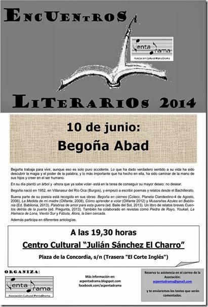 CARTEL_BEGOÑA_ABAD