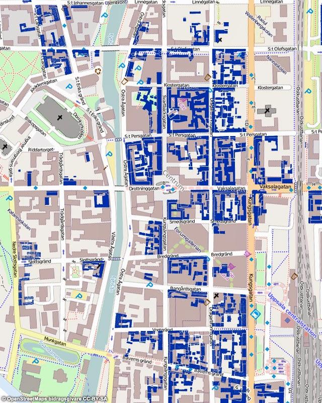 Rivningar I Uppsala Under 1960 Och 1970 Talet Scribo Perspektiv