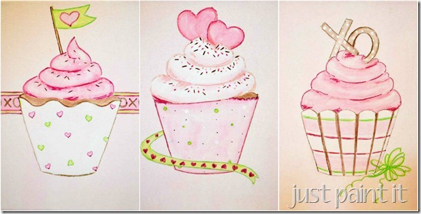 paint cupcakes 23