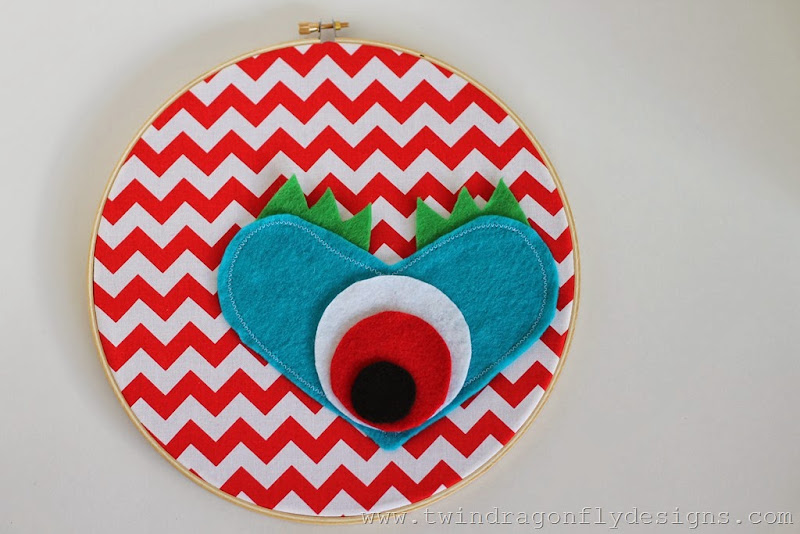 Monster Embroidery Hoop (33)