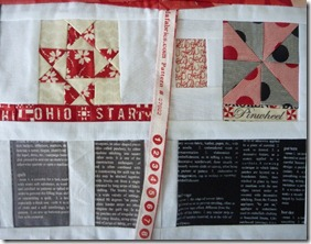 Quilter's bible close up