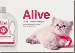 Alive™ Концентрированное жидкое средство для стирки