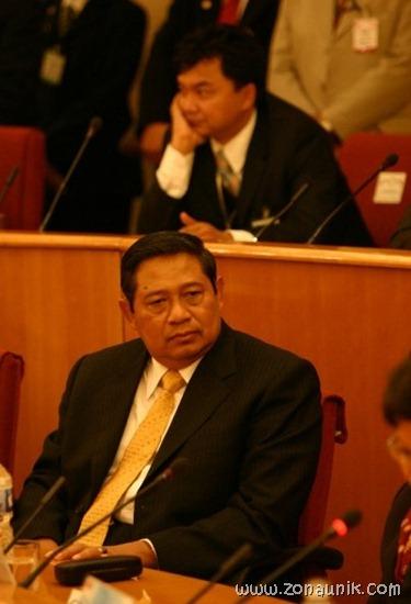 foto keseharian Presiden Indonesia Susilo Bambang Yudhoyono (9)