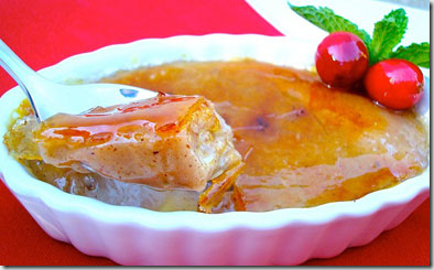 Holiday Spiced Creme Brulee