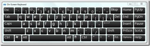 แก้ปัญหาปุ่มคีย์บอร์ดเสียแบบเร่งด่วนด้วย On Screen Keyboard