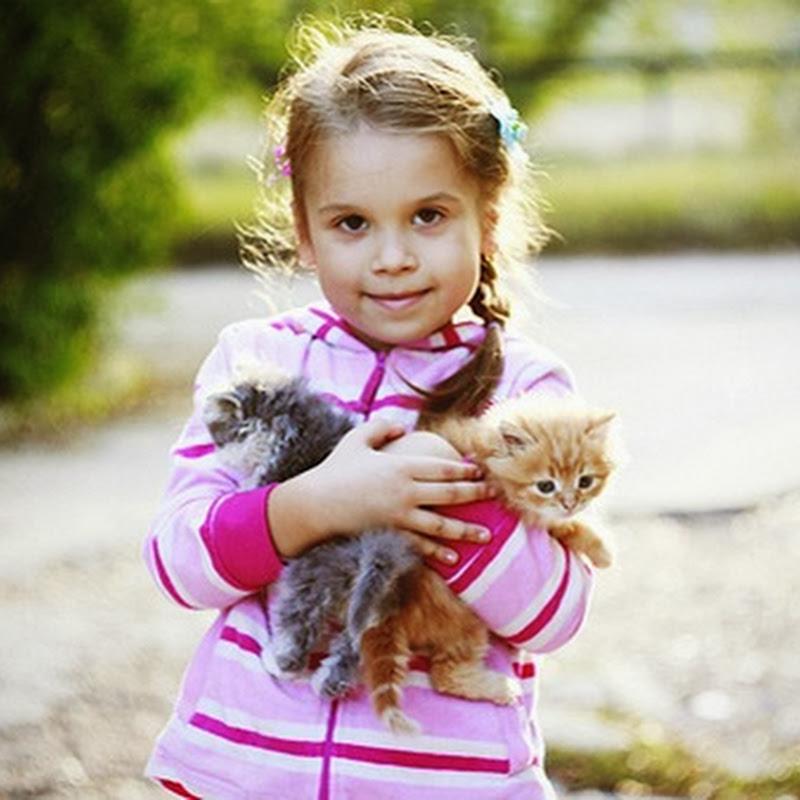 10 argumentos a favor de seus filhos terem um animal de estimação