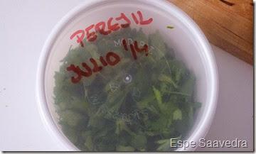 conservar perejil (1)