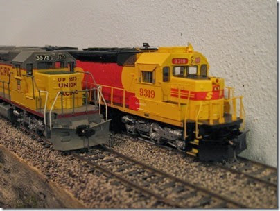 IMG_0447 Southern Pacific Kodachrome Tunnel Motors on My Layout on April 5, 2008