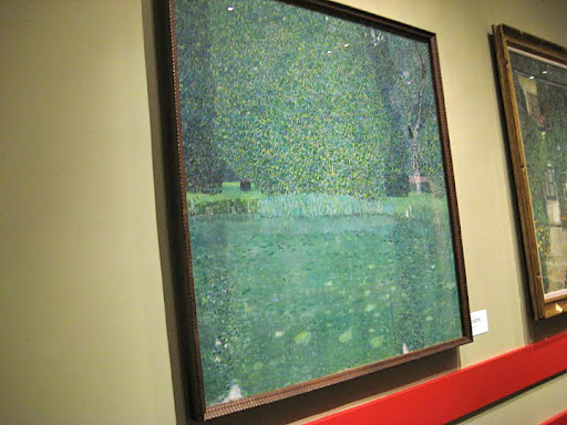 Klimt landscapes are not as well known, but still brilliant works.