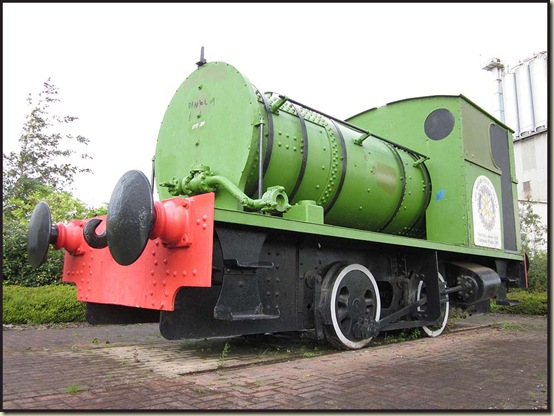 An old Soap Works shunting engine