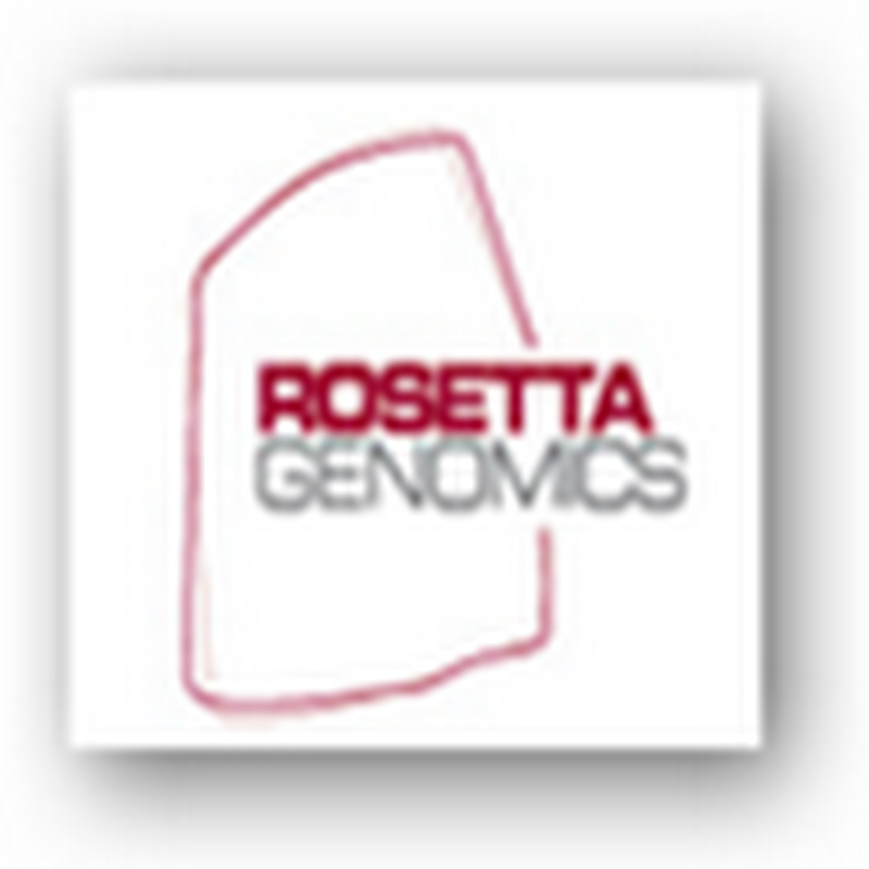 Medicare to Cover Rosetta Genomics Diagnostic Test To Find Cancer of the Unknown Primary