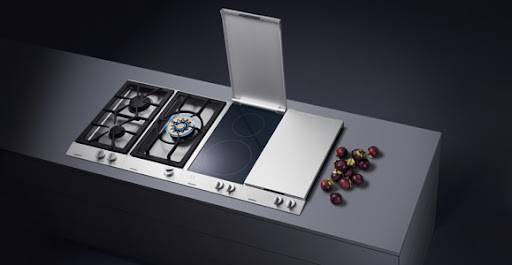 From the Gaggenau website, here is the Vario Gas Cooktop VG 232. I love the design of this and how it does not seem to take up too much space.