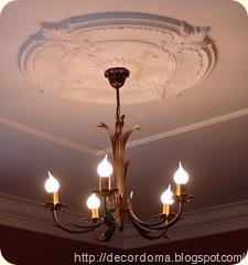 идеи декора потолка своими руками 1