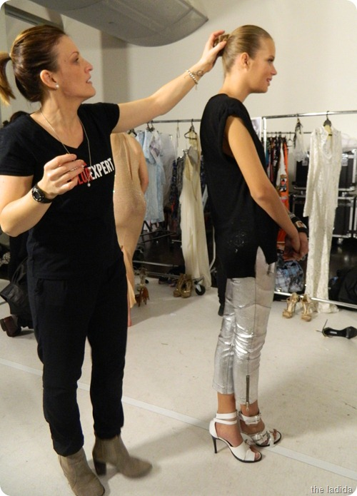Cleo and Swarovski Backstage (6)