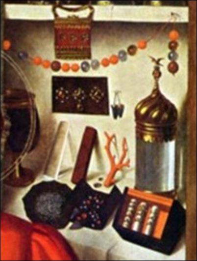 Petrus Christus, Saint Éloi et les fiancés, 1449 _thumb[1]