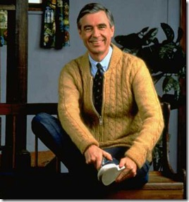 "Mister Rogers, ""Love your neighbour"""