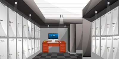 Screenshot of EscapeGame N23 - Locker Room