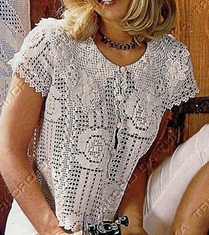 Филе блузку