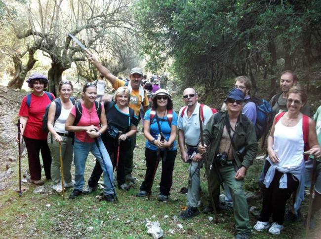 Ορειβατικό σύλλογος: Φωτογραφίες από τη διαδρομή Καραβόμυλος – Αγ. Παρασκευή (21-10-2012)