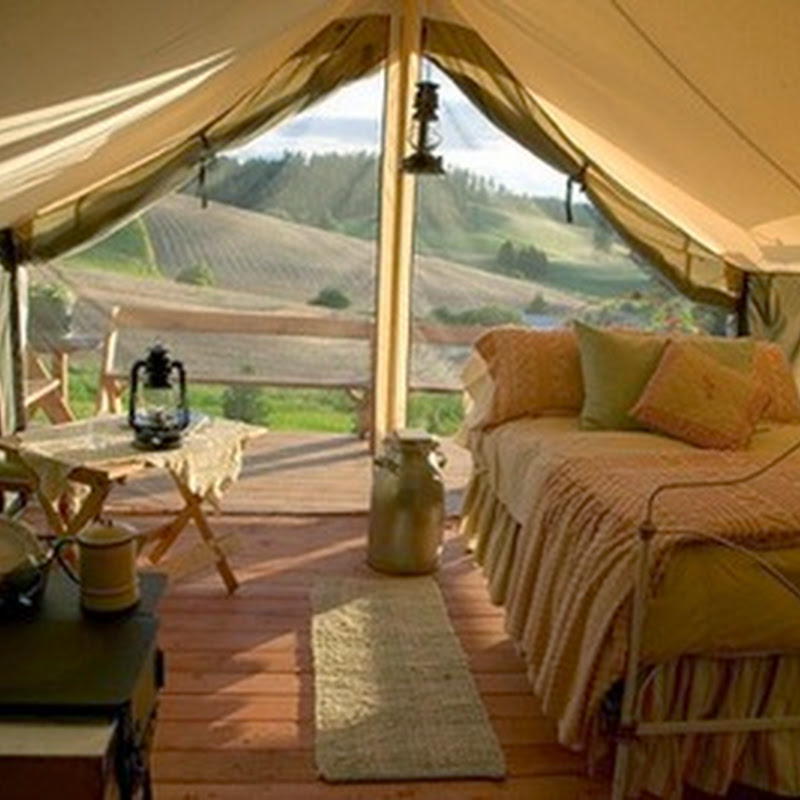 Glamping in Argentina: the idea of ​​camping with the comforts of a hotel.