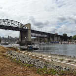 Burrard Bridge in Vancouver, British Columbia, Canada