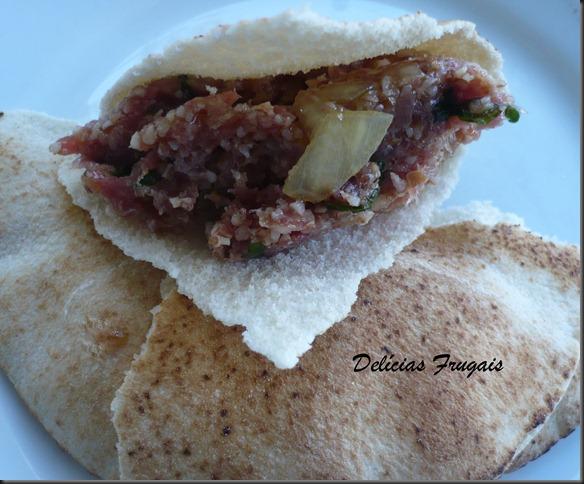 Quibe cru - árabe - Delicias Frugais