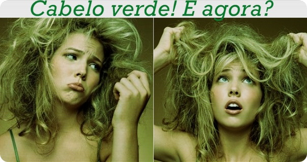 cabelo verde, como tirar o verde do cabelo
