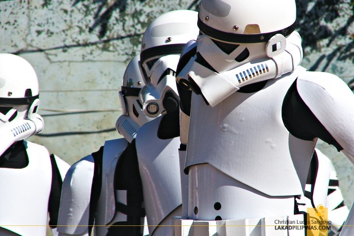Storm Troopers at Baguio's Panagbenga Float Parade