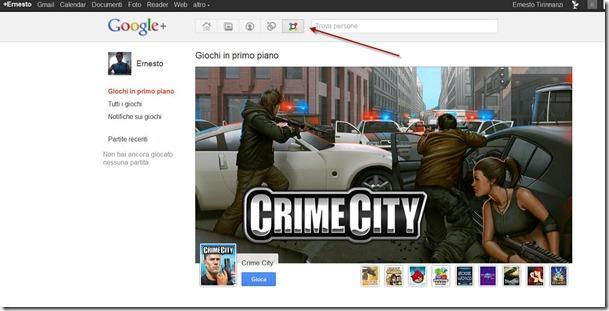 giochi google plus