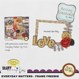 MDK Scraps - Everyday Matters - Frame Freebie Preview