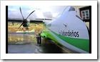 Bautismo del avión de Canair EC-JEV- Los Sabandeños